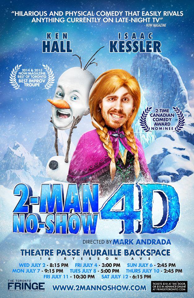2 Man No Show 4D