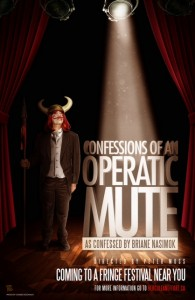Confessions of an Operatic Mute