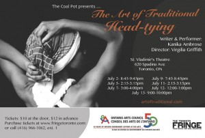 The Art of Traditional Head Tying | Toronto Fringe