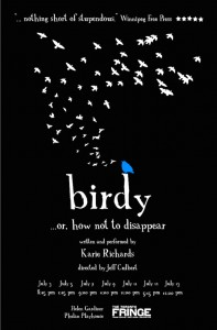 Birdy... Or How Not to Disappear