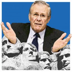 Climbing Mount Rumsfeld