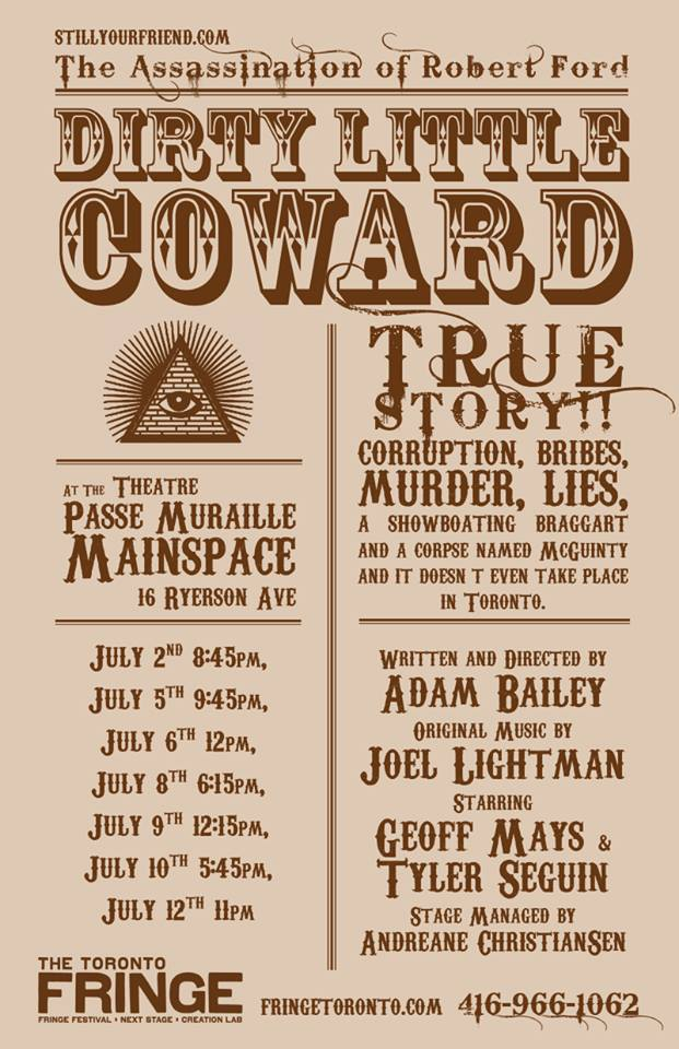 The Assassination of Robert Ford: Dirty Little Coward