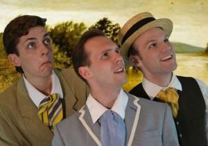 Three Men in a Boat - Fringe 2014